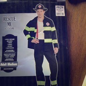 Men's Firefighter Costume size Medium
